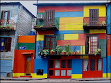 ^ La Boca, a neighborhood of Buenos Aires, the capital of Argen