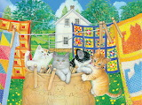 Amy Rosenberg 'Clothesline Kittens'