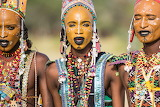 Wodaabe tribe men