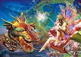 #Gold Dragon Fairy Tale