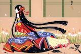 Girl in the kimono