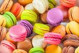 A macaron-almond-cookies