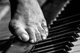 Piano foot