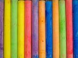 Colored chalk