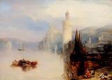 Oberweisel on the Rhine by Francis Moltino
