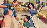 Aiutando in cucina