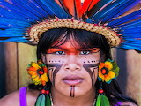 Yanomami tribal man