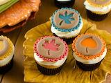Fall Cupcake Cookies