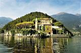 Island villa Lake Como Italy