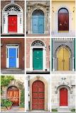 Front door color collage 02