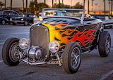 Ford deuce rod flames MOD
