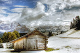Alta-badia-hut-winter-snow-landscape