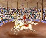 Circus bareback riders-Linda Mears