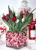 Valentine Cany with Tulips - POTW