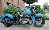 Harley Davidson Knucklehead retro