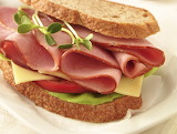 #Ham and Swiss Sandwich