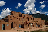New Mexico-Taos Pueblo-built-between 1000-1450 AD