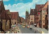 Nuremberg - St. Lorenz Church and Königstraße