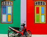 Colored house-Singapore