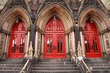 3 red doors Methodist Church Maryland