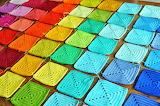 ^ Rainbow blanket placement