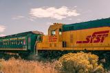 Train in New Mexico