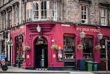 Shop pub Edinburgh Scotland