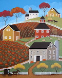 Hillside Barns - Mary Charles