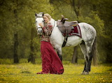 A Lady And A Horse