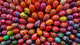 Reddish Easter Eggs