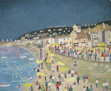 Tom Bawcock's Eve at Mousehole. Cornwall