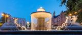 Wittelsbacher Fountain Sculpture Munich