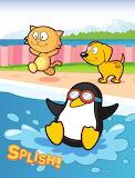 Penguin Jumps In!