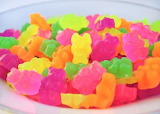 Neon Gummi Bear Soaps