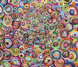 chain stitch circles