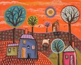 Meadow Sheep - Karla Gerard