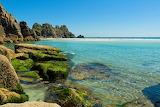 Cornwall coastal scene
