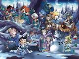 Puzzle hivernal