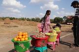 Indian fruit vendor