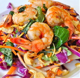 #Cashew Shrimp Salad