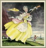 Il pleut bergère Menu M IV 607