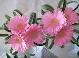 Gerbera flowers decor composition hd-wallpaper-64269