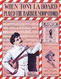 When Tony LaBoard played the Barber Shop chord