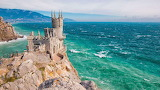 Beautiful castle in Crimea