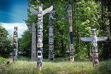 Totem poles, BC