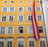 W. A. Mozart's Birthplace, Salzburg