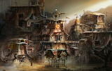Steampunk-houses