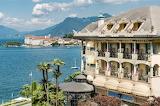 Stresa-view of the Isola Bella island-lake Maggiore-Italy