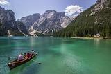 Braies Lake, Italian Alps