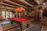 Idaho Cabin Recreation Room